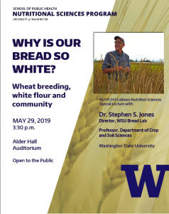 Why is our Bread so White poster