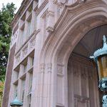 West entrance to Raitt Hall