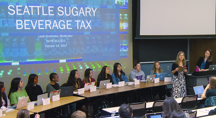 Sugary Beverage Tax presentation by Jennifer Otten