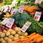 Pike Place Market vegetables