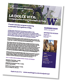 La Dolce Vita Information Sheet Preview Image