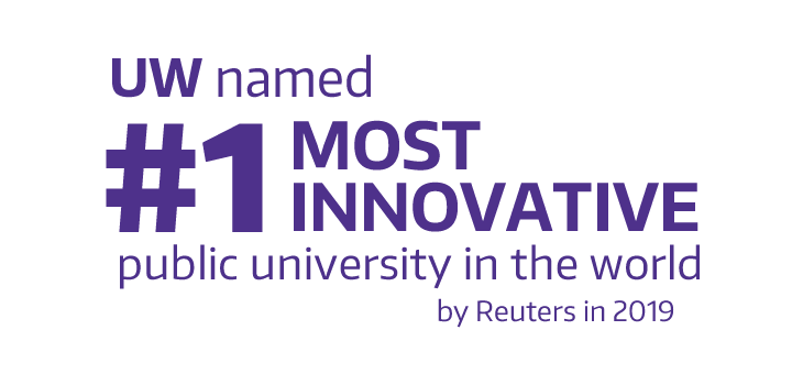 UW named #1 most innovative public university in the world by Reuters in 2019