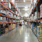warehouse food shopping