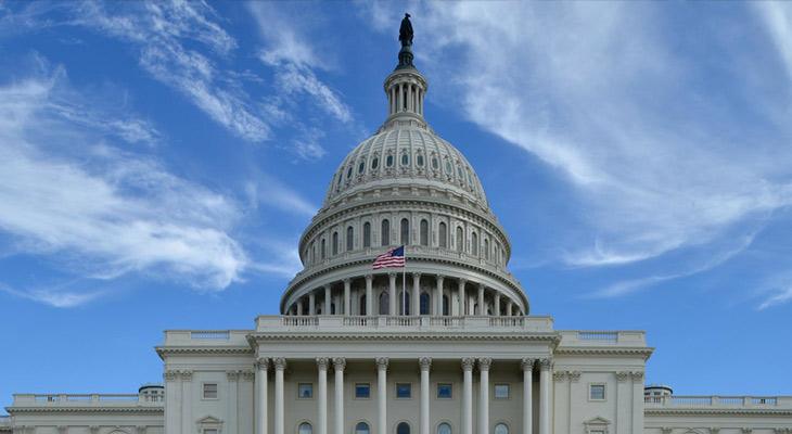 U.S. Capital building dome