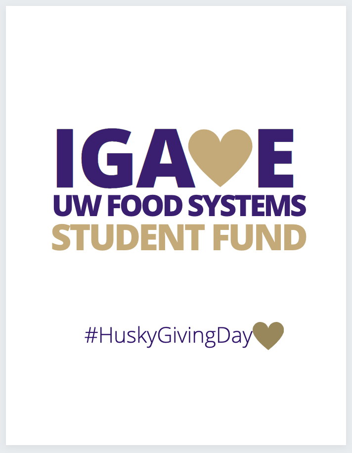 I Gave UW Food Systems Student Fund