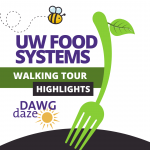 UW Food Systems Walking Tour highlights